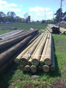 Utility Power Poles, Electricity Pole