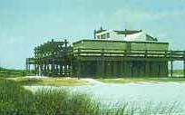 Beach Home Piling