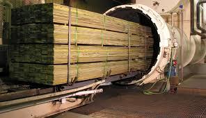 Treated lumber. Pressure Treated. Bridge Timbers.