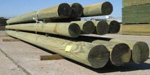 Electricity Poles, treated wood poles, powerline poles, Electric Utility Pole